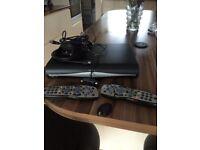 Sky box 2x remote and magic eye