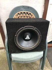 """JL audio 12"""" w3 subwoofer dual coil"""