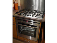 AEG Competence single built-in electric FAN OVEN with grill FOR SALE professionally cleaned
