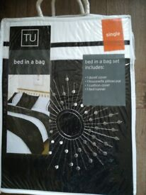 Bed in a bag duvet set