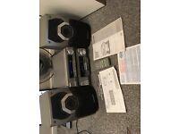 technics amplifier and graphic equzlizer