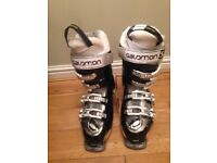 Salomon ladies ski boots sports Idol size 6 (24.5)