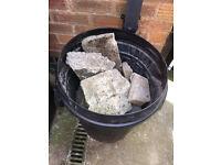 Concrete rubble - free to collect