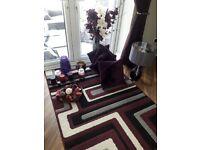 Plum living room accessories