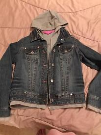 Denim jacket size 14