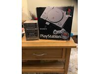 Playstation 1 boxed with 11 games