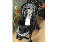 silver cross 3d pushchair