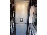 TALL BEKO GRAY FROST FREE F FREEZER WITH WATER DISPENSER GOOD CONDITION 3 MONTHS WARRANTY
