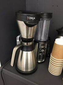 Ninja Coffee Bar - filter coffee maker - stainless steel thermal