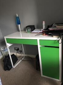 Ikea desk - green