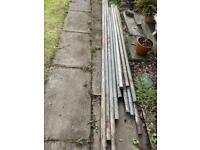 PENDING COLLECTION-ASSORTMENT OF SCAFFOLDING POLES AND FITTINGS
