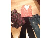 Maternity clothes bundle size 12 to 16