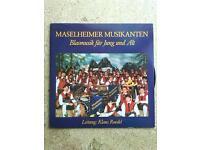 Maselheimer Musikanten -  (LP Vinyl) - 1986 Langspielplatte Baden-Württemberg - Burgrieden Vorschau