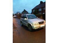 Suzuki vitara 1.6 16v grand 2002 low miles