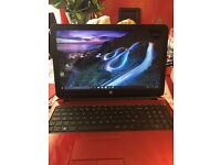 H.P RED LAPTOP 4GB