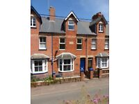 2 double bedroom house to Let in quiet location close to Crediton town centre