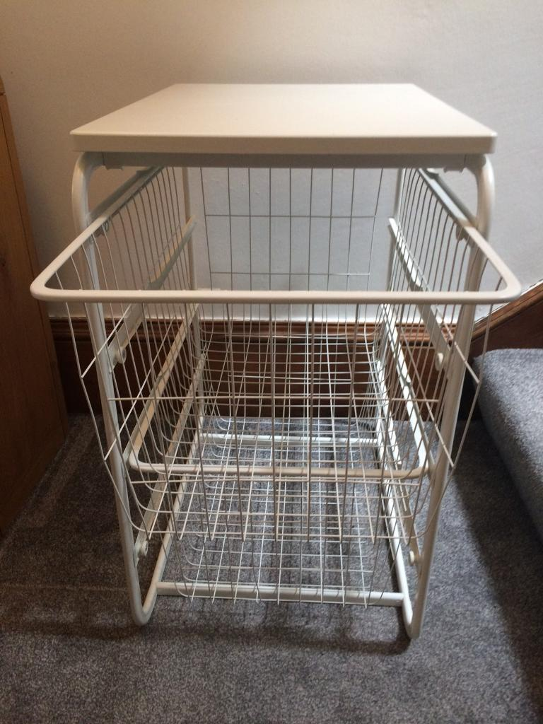 ikea antonius wire baskets 2 available in alloa