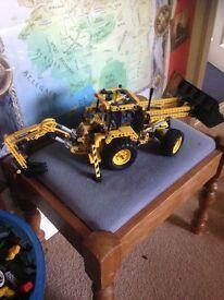 Lego technic jcb