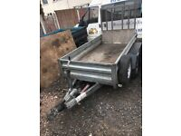 Indespension trailer. 8 X 4. Braked