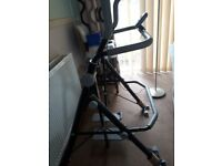 V-fit Air Glider exercise machine. As new.