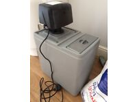 Water softener and salt tablets, used for a couple of months, good condition, with instructions