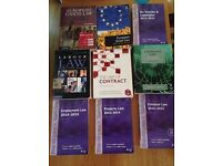 Range of Law Text books and Statutes - Good Condition