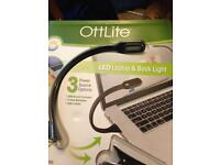 X7 OTTLITE LED USB LAPTOP & BOOK LIGHT ( JOBLOT )