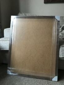 Walnut Effect Picture Frame 32 x 26 inches