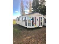 Cheap double glazed caravan free pitch fees