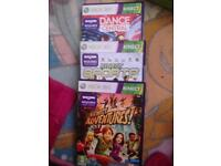 Kinect for Xbox 360 plus games