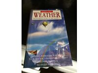 COLLINS BOOK ON THE WEATHER