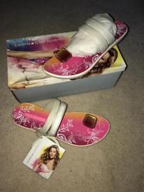 Gisele Bundchen sandals