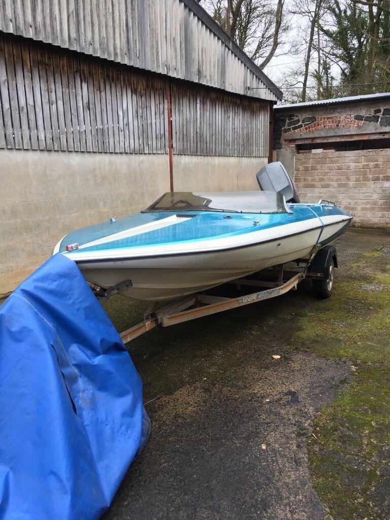 1985 Glastron Cvx 16 Ski Boat In Magherafelt County