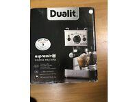 Dualit Espressivo 3 in 1 coffee maker