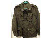 Military Style Jacket/Coat Size M/L