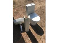 Toilet and sink sold pending pick up