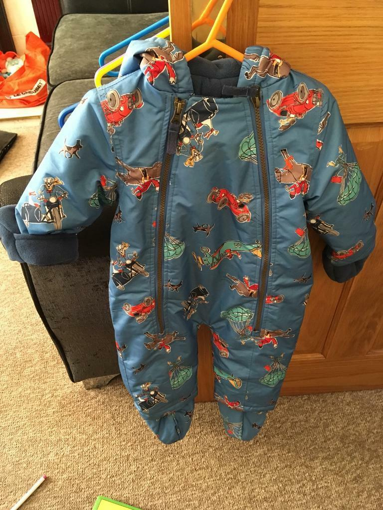 77a7f03ea Lovely boys joules snowsuit 9-12 months