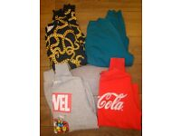4 mens sweatshirts