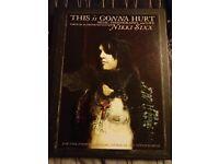 Nikki Sixx This is Gonna Hurt Hardback book