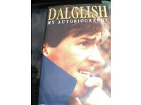 DALGLISH - MY AUTOBIOGRAPHY - HARDBACK 227 PAGE BOOK IN V.G.C.