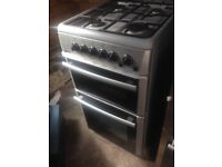 Beko Silver Gas cooker 50cm....Cheap Free delivery