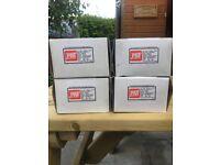 4 boxes 75mm drywall screws (500 per box)