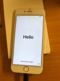 iPhone 6s working and scratch free screen