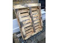 Free wooden pallet to pick up in Bermondsey