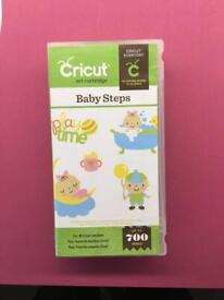 Cricut 'Baby Steps' Cartridge - discontinued
