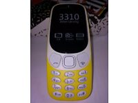 NOKIA 3310 DUAL SIM 2017, ORANGE , OPEN TO ALL