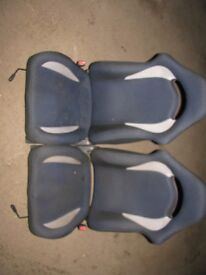 Impreza WRX Turbo 2000 Front & Rear Seats Saloon