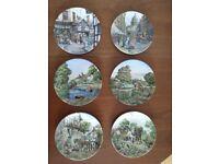 6 Decorative Plates