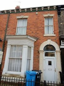 large 4 bed period house spring bank close to town centre mid terrace good garden and neighbors