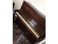 Hoffman Upright piano and stool FOR SALE